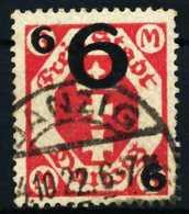 DANZIG Nr 106b Gestempelt X4D64B6 - Dantzig