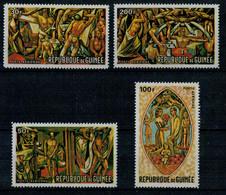 """REPUBLIQUE  DE  GUINEE    1967     """"  WORLD  OF  TOMORROW""""   SET  X  4      MNH** - Guinea (1958-...)"""