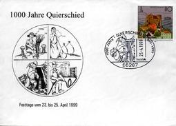 ALLEMAGNE   Lettre  PAP 1999 Quierschied Industrie Mine Agriculture - Usines & Industries