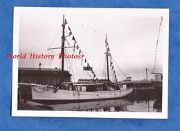 Photo Ancienne - Port De SAINT MALO - Le Voilier Hôpital Du Père Yvon - 14 Février 1937 - Navire Boat Ship Voile - Bateaux