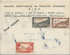 Sénégal Lettre Affranchie - Sénégal (1887-1944)