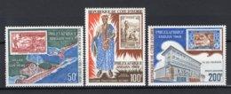 CÔTE D'IVOIRE Yt. PA42/44 MNH** Luchtpost 1969 - Côte D'Ivoire (1960-...)