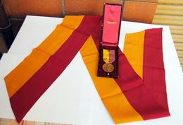 Lotto Fascista Squadrista Con Medaglia Completa Di Scatola E Fascia Per MARCIA SU ROMA - Con EXPERTISE (REGNO D'ITALIA) - Divise