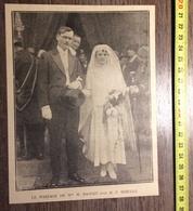 ANNEES 20/30 MARIAGE DE DANSET ET HIEULLE - Collections