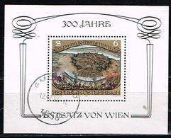 AUTRICHE / Oblitérés/Used/ 1983 - 300 Ans Dégagement De La Ville De Vienne Assiégée Par Les Ottomans - Blocs & Feuillets