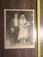 ANNEES 20/30 MARIAGE DE MAILLOT ET BOUILLET - Collections