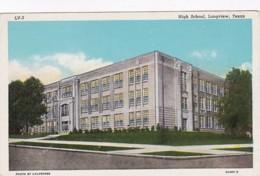Texas Longview High School Curteich - Longview Area