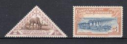 MOCAMBIQUE CIE Yt. 193/194 MH* 1937 - Mozambique