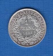 1 Fr  1888 A  Ttb + - France