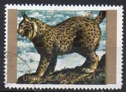 UMM AL QIWAIN N° 1379A O MI 1972 Faune (Lynx) Grand Format - Umm Al-Qiwain