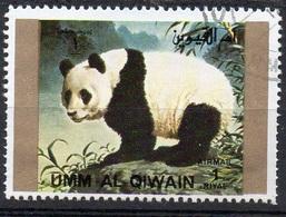 UMM AL QIWAIN N° 1382A O MI 1972 Faune (Panda) Grand Format - Umm Al-Qiwain