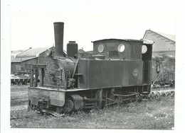 Carte Photo BVA 11146 Locomotive 29 à Huelin Dépôt - Hohenzollern 20/04/1961 Photo Wiseman - Matériel