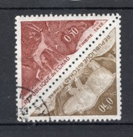 TCHAD Yt. T23/24° Gestempeld Portzegel 1962 - Chad (1960-...)