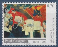 = 150ème Anniversaire Naissance Peintre Paul Gauguin Vision Après Le Sermon N°3207 Oblitéré - France