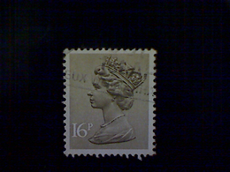 Great Britain, Scott #MH94, Used(o), 1983, Machin: Queen Elizabeth II, 16p, Brownish Gray - 1952-.... (Elizabeth II)