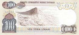 TURKEY P. 189a 100 L 1980 UNC - Turkije