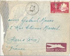 Martinique Lettre Affranchie - Mauritanie (1906-1944)