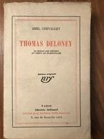 Abel Chevalley - Thomas Deloney - Livres, BD, Revues