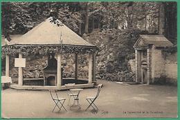 ! - Belgique - Carte Postale Avec Timbre Cob 136 X 5 - Envoi De Spa Vers Sclessin - 1912 - La Sauvenière Et La Groesbeck - België