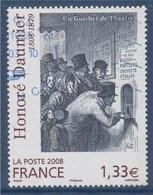 = Honoré Daumier, Un Guichet De Théâtre, Gravure, N°4305 Oblitéré - Used Stamps