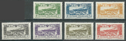 Guyane Poste Aérienne YT N°11/18 (sauf 11) Vue De Cayenne Neuf/charnière * - Guyane Française (1886-1949)