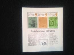 St Helena Postal Stones 1980 - Saint Helena Island