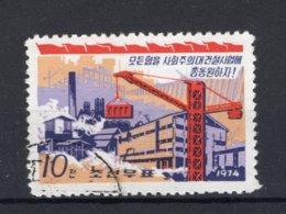 KOREA-NOORD Yt. 1132° Gestempeld 1974 - Korea, North