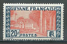 Guyane YT N°132 Hotel Du Gouvernement à Cayenne Neuf ** - Guyane Française (1886-1949)
