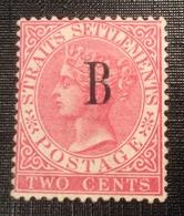 SG 15, Thailand British P.o Bangkok (Siam) Straits Settlements 1882-85 2c (Thailande Malaysia - Thailand