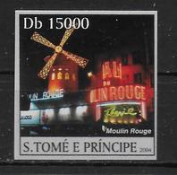 ST THOME ET PRINCE  N° 1873 * *   NON DENTELE   Moulin Rouge - Moulins