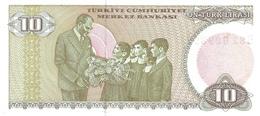TURKEY P. 192 10 L 1970 UNC - Turkije