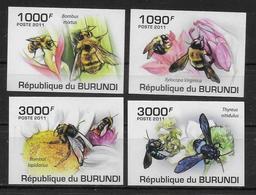 BURUNDI  N°  1181/84 * *    NON DENTELE  Abeilles - Abeilles