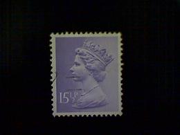 Great Britain, Scott #MH92, Used(o), 1981, Machin: Queen Elizabeth II, 15½p, Light Violet - 1952-.... (Elizabeth II)