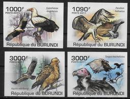 BURUNDI  N° 1193/96  * *  NON DENTELE Oiseaux Rapaces - Aigles & Rapaces Diurnes