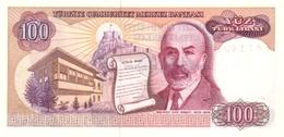 TURKEY P. 194b 100 L 1970 UNC - Turquie