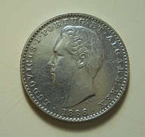 Portugal 100 Reis 1886 Silver - Portugal