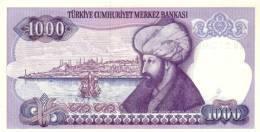 TURKEY P. 196 1000 L 1986 UNC - Turquie