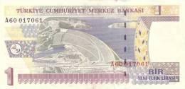 TURKEY P. 216 1 L  2005 UNC - Turquie
