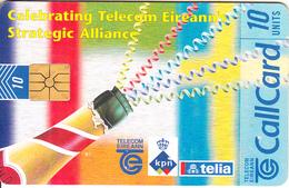 IRELAND - Strategic Alliance(Telecom Eireann-KPN-Telia), Chip GP1, 01/97, Used - Ireland
