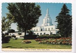 Mormon Temple, Idaho Falls, Idaho, Used Postcard [22439] - Idaho Falls
