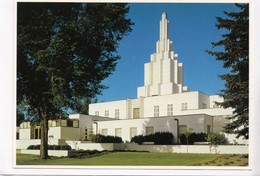 IDAHO FALLS TEMPLE OF THE CHURCH OF JESUS CHRIST OF LATTER DAY SAINTS, Unused Postcard [22445] - Idaho Falls