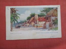 Guam Street Scene In Assan--  4 Pin Holes  Ref 3103 - Guam