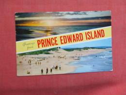 Greetings  Prince Edward Island    Ref 3103 - Prince Edward Island