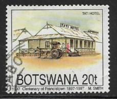Botswana, Scott # 616 Used Tati Hotel, 1997 - Botswana (1966-...)
