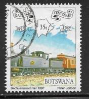 Botswana, Scott # 638 Used Railway Cent., 1997 - Botswana (1966-...)