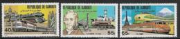 Djibouti Scott # 525-7 MNH Locomotives, 1981 - Djibouti (1977-...)
