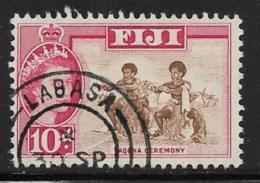 Fiji Scott # 181 Used Yaqona Ceremony, 1964 - Fiji (...-1970)