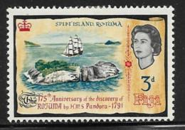 Fiji Scott # 221 Mint Hinged Ship Pandora, Split Island, 1966 - Fiji (...-1970)