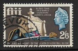 Fiji Scott # 235 Used Bligh's Tomb, 1967 - Fiji (...-1970)