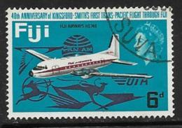 Fiji Scott # 237 Used Fiji Airways Plane, 1968 - Fiji (...-1970)